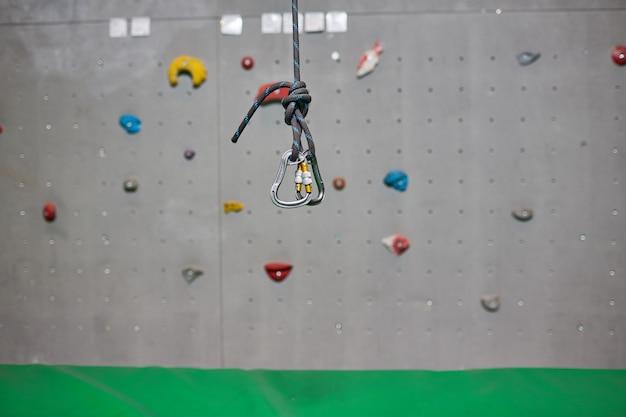 Equipo de escalada