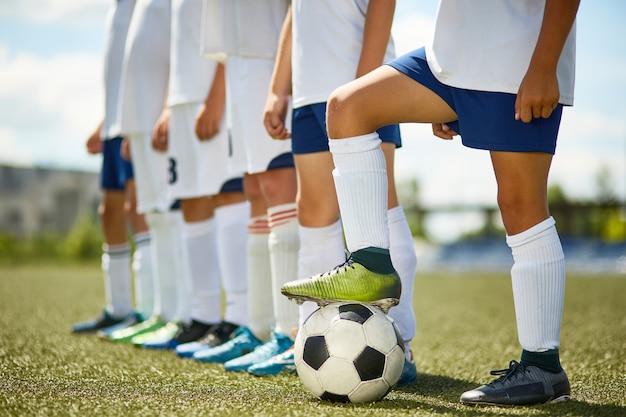 Equipo de fútbol junior