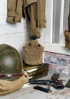 Equipo militar estadounidense de la segunda guerra mundial