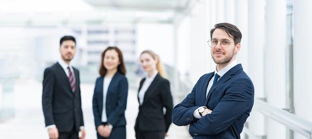 Equipo de negocios internacionales