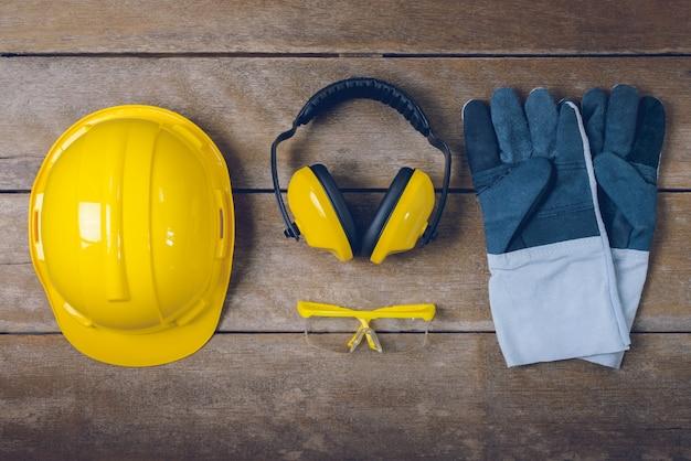 Equipo de seguridad de construcción estándar
