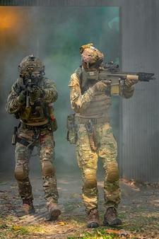 Equipo de soldados