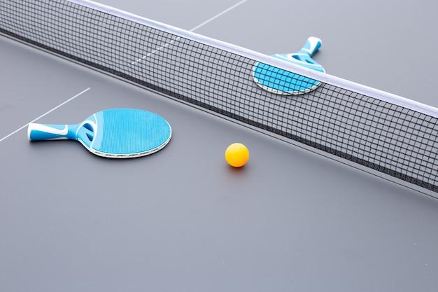 Equipo de tenis de mesa