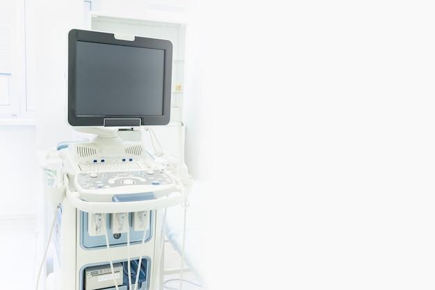 Equipo para ultrasonido de mujeres embarazadas copia espacio monitoreo de mujeres embarazadas mujer
