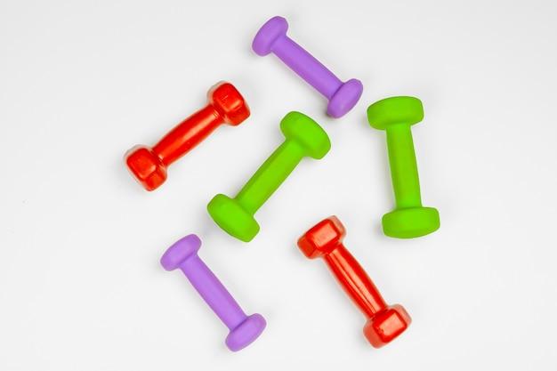 Equipos de gimnasia pesas