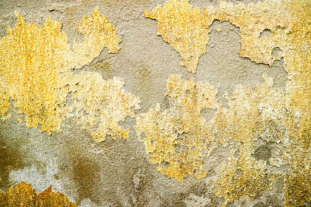 La erosión de la superficie de concreto fue dañada por el agua subterránea