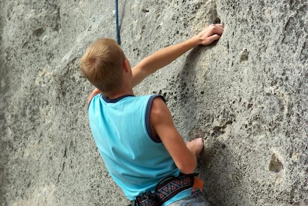 Escalador de rocas