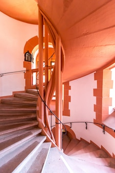 Escalera de caracol antigua