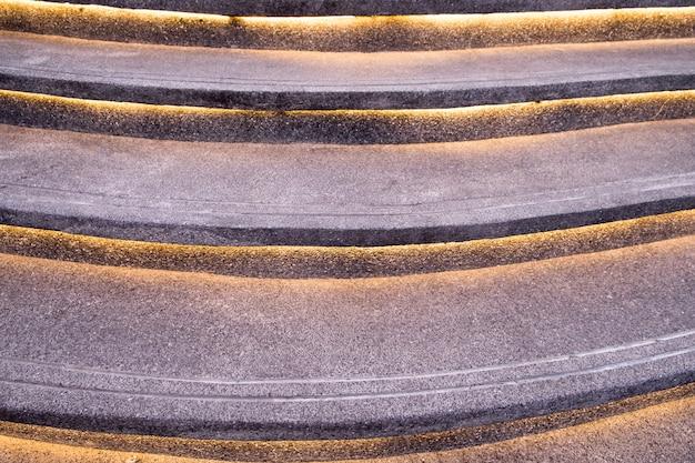Escalera patrón decorar linea luz.