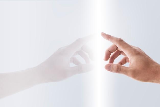 Escáner de huellas dactilares en pantalla transparente