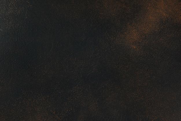 Escena de hormigón oxidado negro