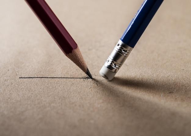 Escribir y borrar concepto.