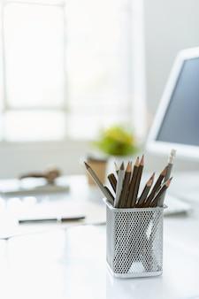 El escritorio de office abstracto