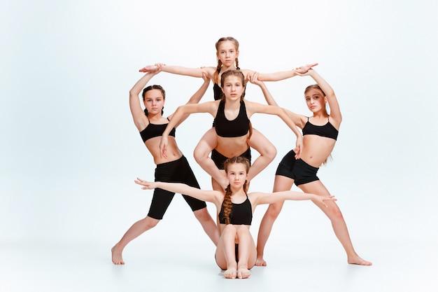 Escuela de baile para niños, bailarines de ballet, hiphop, street, funky y modernos