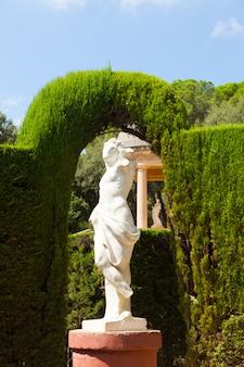 Escultura en el parc del laberint