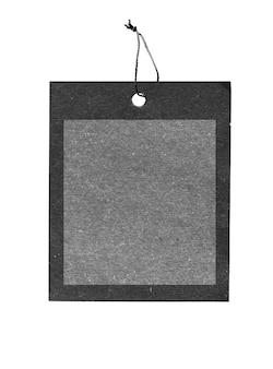 Espacio de copia de papel de etiqueta de precio