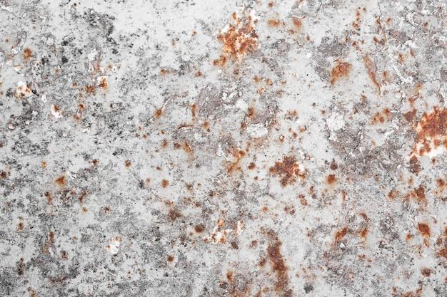 Espacio de copia de textura de acero oxidado y rayado