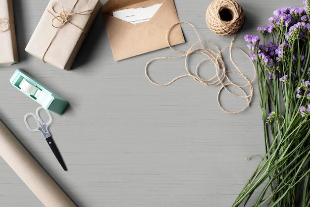 Espacio de diseño de envoltura de regalo