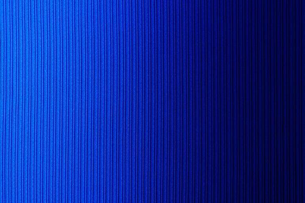 Espacio decorativo color azul, degradado horizontal de textura rayada. fondo de pantalla. arte. diseño.
