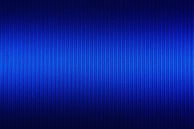 Espacio decorativo color azul, textura rayada degradado superior e inferior. fondo de pantalla. arte. diseño.
