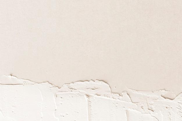 Espacio de diseño de textura de pintura crema