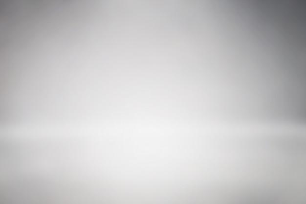 Espacio limpio estudio telón de fondo abstracto degradado gris