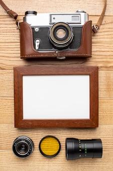 Espacio de trabajo del fotógrafo