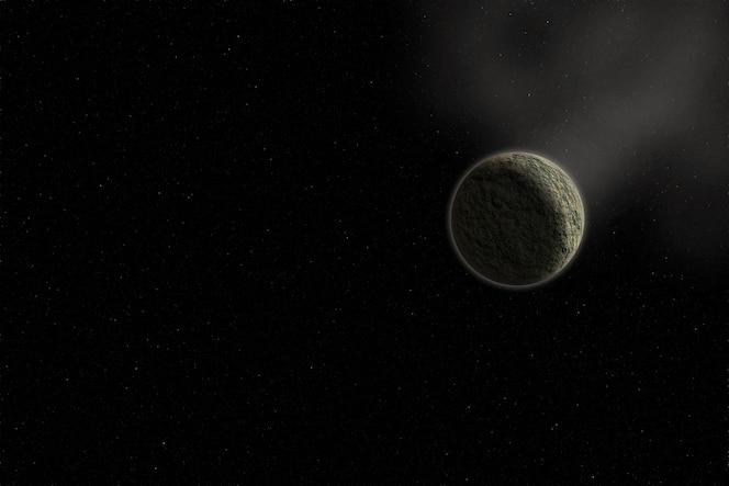 Espacio y el planeta