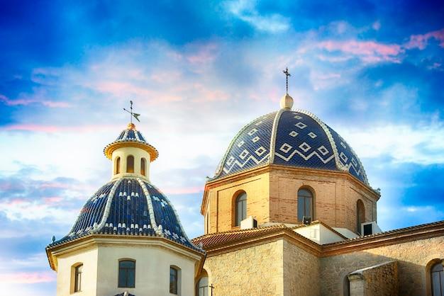 España, alicante, altea, 16 de junio de 2014 catedral del mediterráneo resort altea