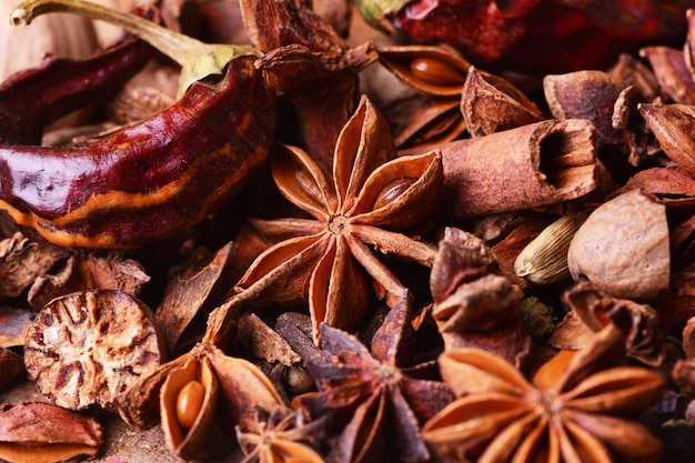 Especias aromáticas