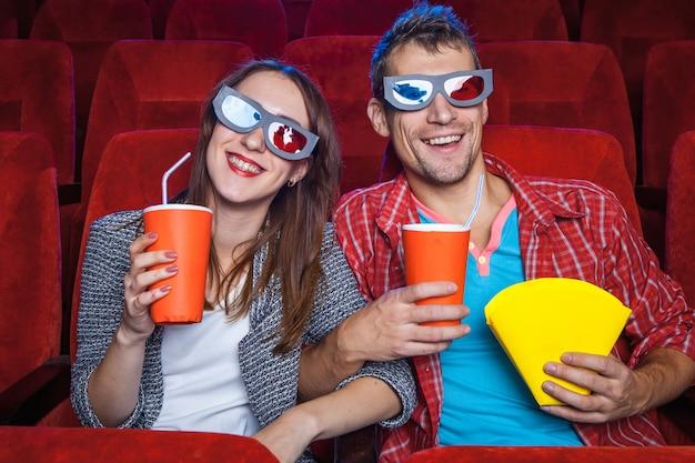 Los espectadores en el cine.