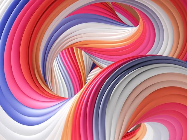 Espiral de colores de fondo
