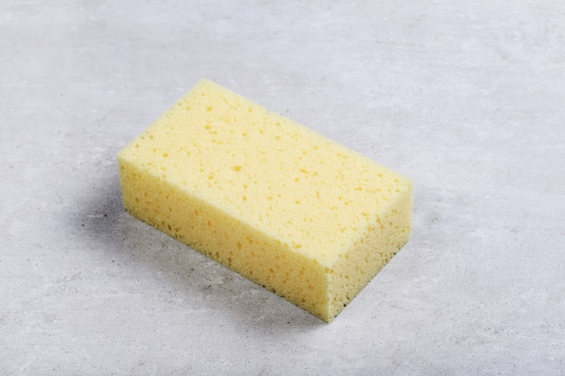Esponja rectangular amarilla