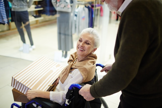 Esposa discapacitada