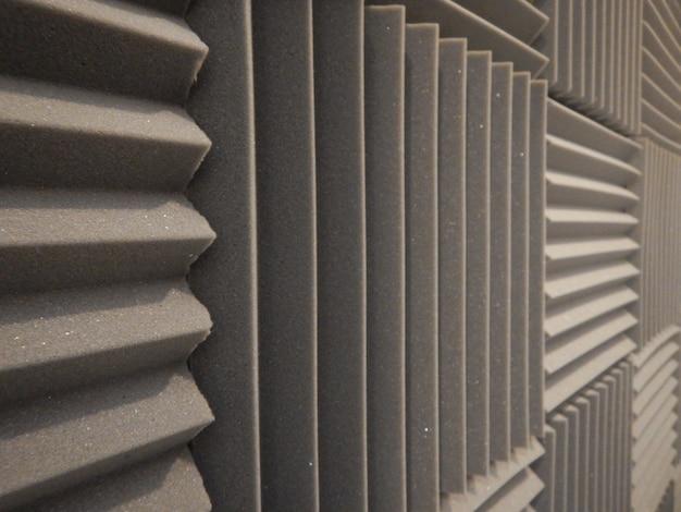 Espuma acústica en estudio