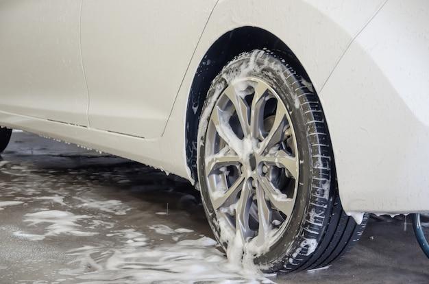 Espuma de lavado de autos
