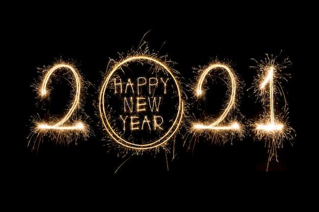 Espumoso año nuevo 2021