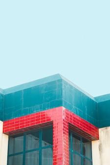 Esquina de edificio de la ciudad