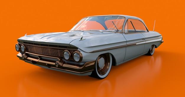 Establecer viejo coche americano en excelentes condiciones