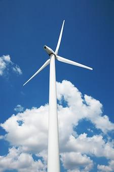 Estación de energía eólica