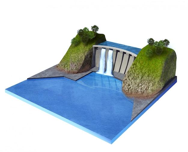 Estación de energía hidroeléctrica