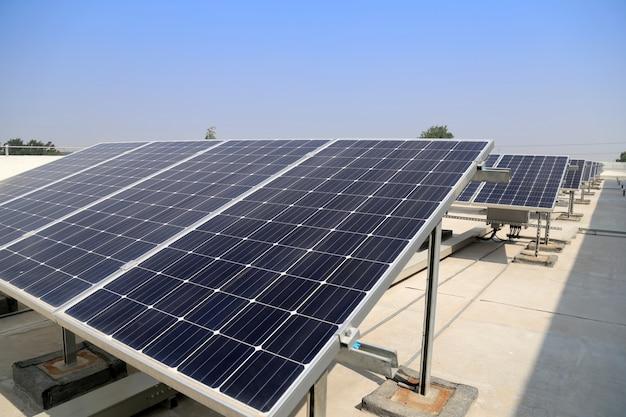 Estación de energía solar