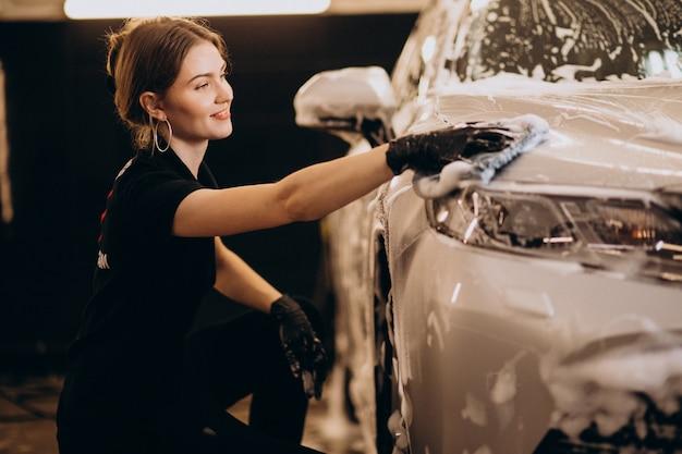 Estación de lavado de autos