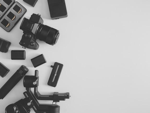 Estación de trabajo para fotógrafos, estabilizadores de cardán y accesorio de cámara