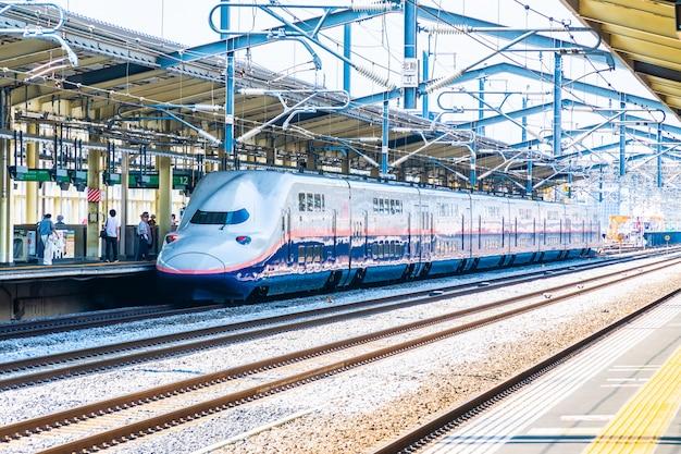 La estación de tren y metro en japón es el transporte popular
