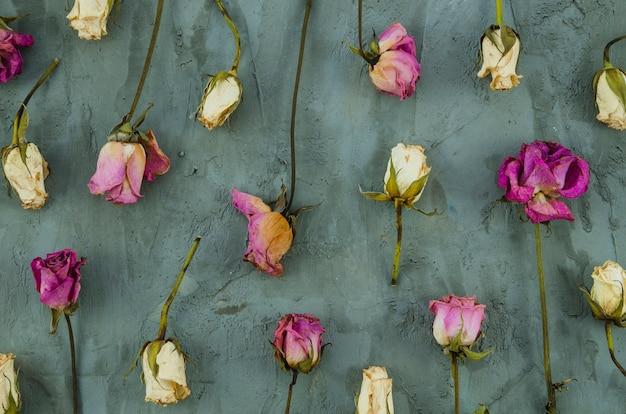 Estampado de flores decorativas