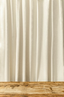 Estante de telón de fondo de producto de cortina
