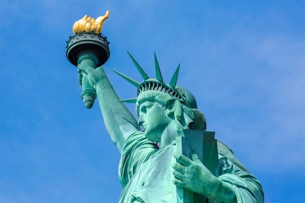 Estatua de la libertad de nueva york american symbol usa