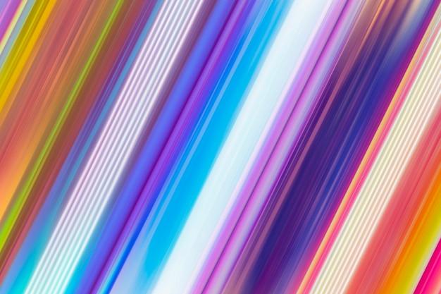 Estelas de luz dinámicas efecto de desenfoque de movimiento colorido de fondo abstracto