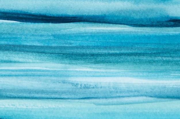Estilo abstracto de fondo acuarela azul ombre